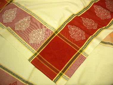ジャガード織りテフロン加工