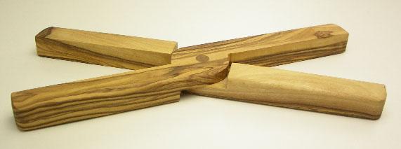 木製折りたたみ式鍋敷