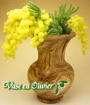 オリーブの花器、花瓶