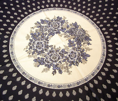 プロバンス円形テーブルクロス