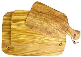 オリーブ木カッティングボード