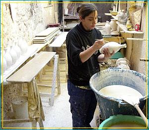陶器の町バロリス