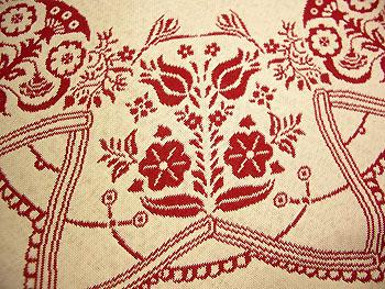 ジャガード織りマット